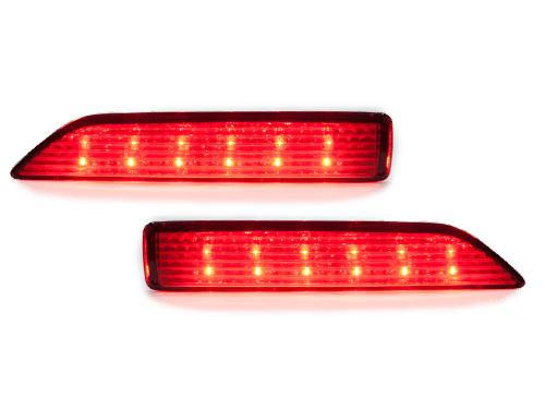 REAR BUMPER REFLECTOR & BRAKE LIGHT