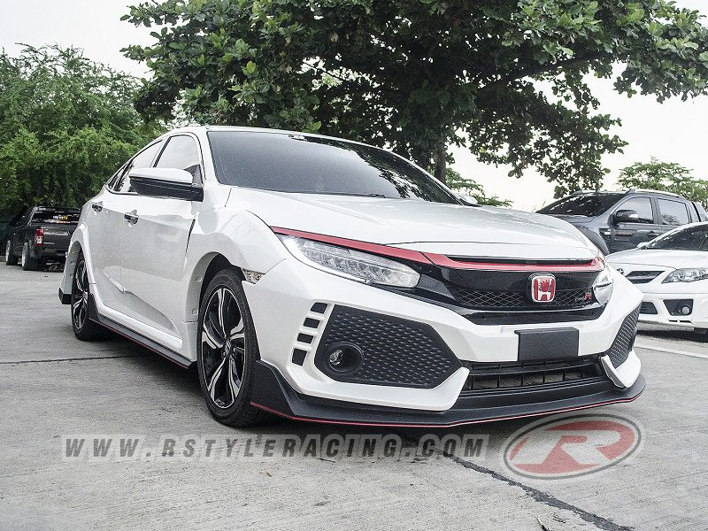 type r honda civic 2016 4 by k sport rstyle racing. Black Bedroom Furniture Sets. Home Design Ideas