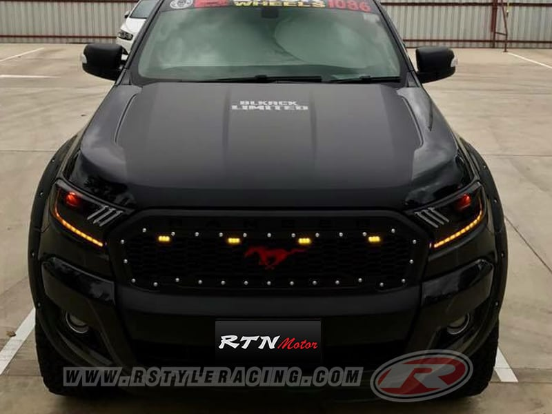 Front Grill Led For Ford Ranger 2015 Style Mustang