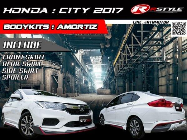 BodyKit For Honda City 2017 Style Amotriz - Rstyle Racing
