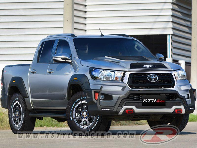 ชุดแต่งรอบคัน ทรง Panther สำหรับ Toyota Revo Rocco