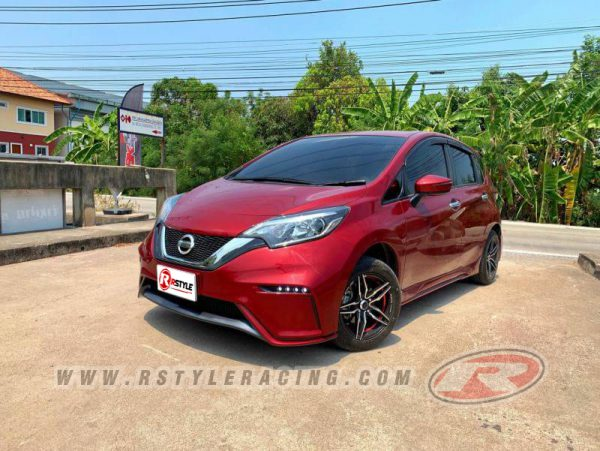 BODY  KIT  FOR NISSAN NOTE BANGKOK DESIGN STYLE WITH COLOR