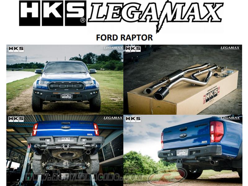 hks muffler for ford 2018 raptor legamax carbon single rstyle racing
