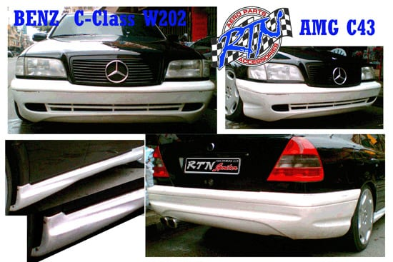 Bodykits For C220 (W202) AMG C43 Style -en - Rstyle Racing