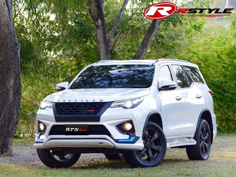 Toyota Fortuner 2015 >> Body Kit FL-TRD Style For Toyota Fortuner 2015 - Rstyle Racing