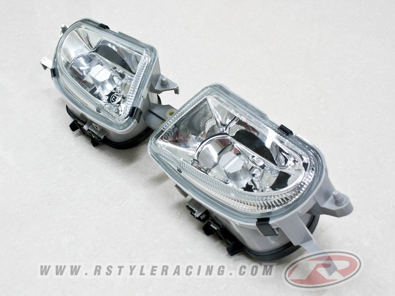 Fog Lamp Crytral Type use At Front Bumper Kit WALD Style(By DEPO)n - Rstyle  Racing