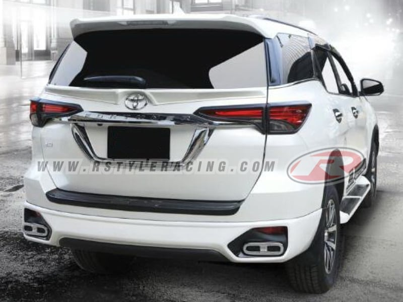 Bodykit V 5 Style For Toyota Fortuner 2015n - Rstyle Racing
