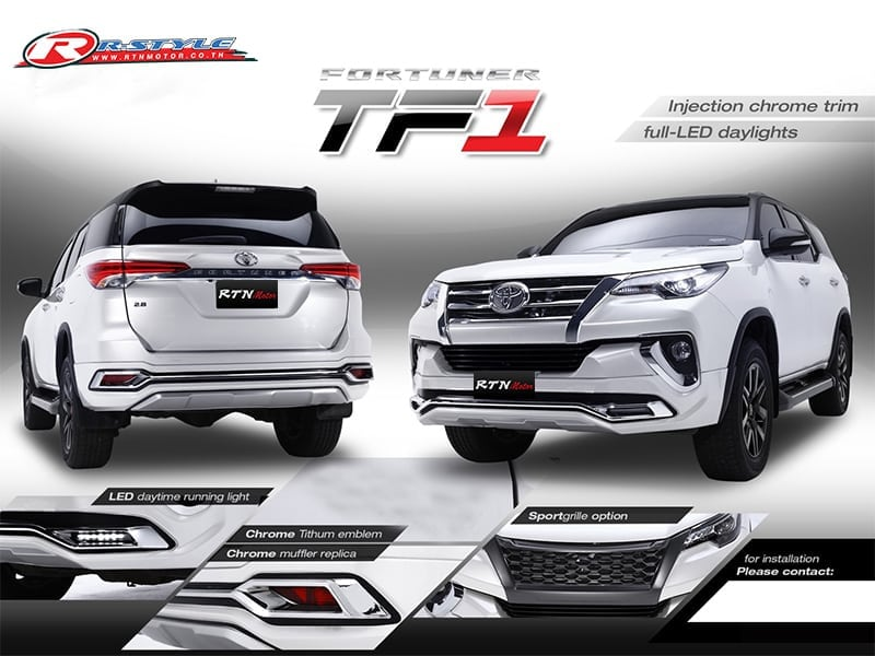 FRONT BUMPER UNDER PROTECT FOR TOYOTA FORTUNER 2015-2019