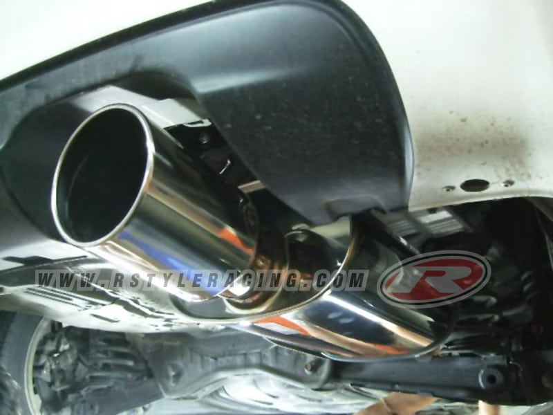 HKS Muffler For Civic-2006 -R18A (LEGAL) By HKS Thailand n - Rstyle Racing