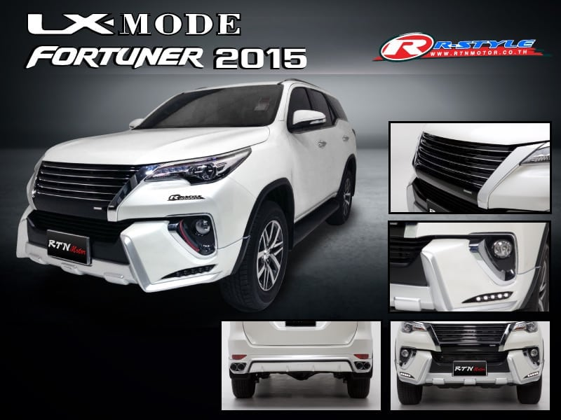 Bodykit For Toyota Fortuner (2015) LX Mode Designsn - Rstyle Racing
