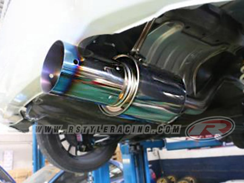 HKS Muffler For Jazz (2014)-L15A (Hi-Power Ti)By HKS Thailand n - Rstyle  Racing