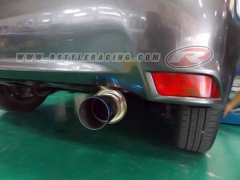 HKS Muffler For Yaris (2013)-3NR-FE (Hi-Power Ti) By HKS Thailand n -  Rstyle Racing