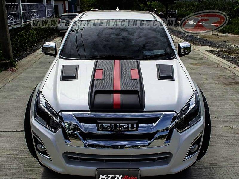 Scoop For Front Hood K-Sport-V3 Style For ISUZU DMAX 2016 ...